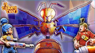 This EVIL Robotic Wasp Has an ADORABLE Secret! (It Takes Two - Episode 4)