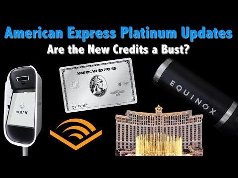 American Express Platinum Card MAJOR Updates: WORTH $695?
