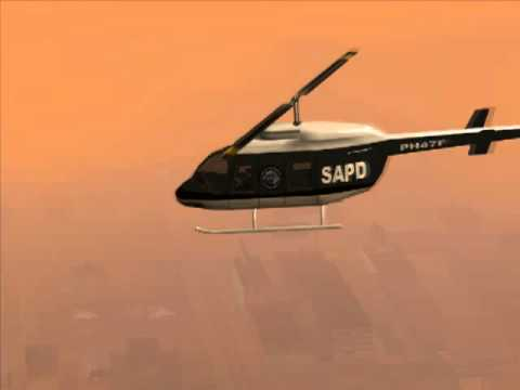 GTA: San Andreas Quotes - Heli Support - PS2 Version