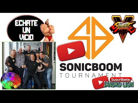 "SonicBoom 2017, Street Fighter Tournament 5. ""Take a seat"" presentation. New project."