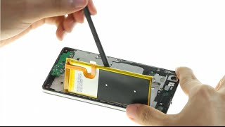 huawei p8 lite battery removed