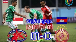 Video Home United Vs Phnom Penh Crown 07/02/2017 (AFC CUP 2017) download MP3, 3GP, MP4, WEBM, AVI, FLV Agustus 2017