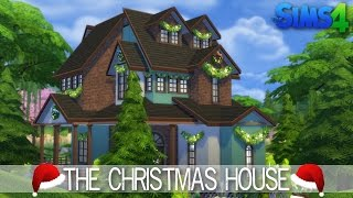 The Sims 4 House Building - The Christmas House - Speed Build