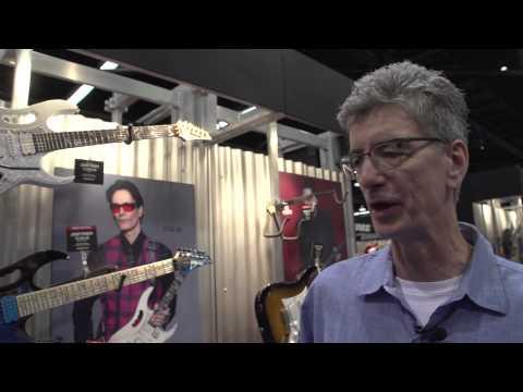 NAMM 2015 - Ibanez Steve Vai Signature Models
