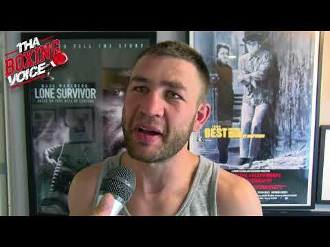 Chris Van Heerden on Fighting Errol Spence Jr.