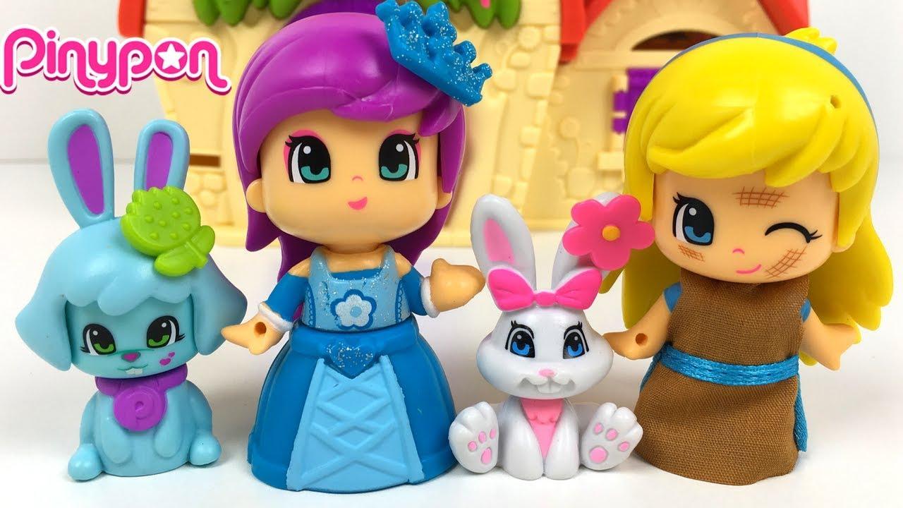 La casita de los cuentos de pinypon el espejo magico y el concurso de mascotas con cenicienta - Espejo magico juguete ...