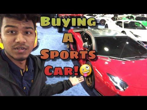 Buying a sports car at Detroit auto show 2019| Sylheti Vloger |