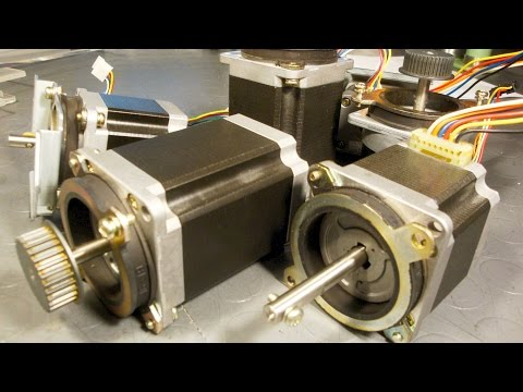 Salvaging Useful Parts From Copy Machines:  Stepper Motors, BLDCs, SMPS, Laser Diodes Etc