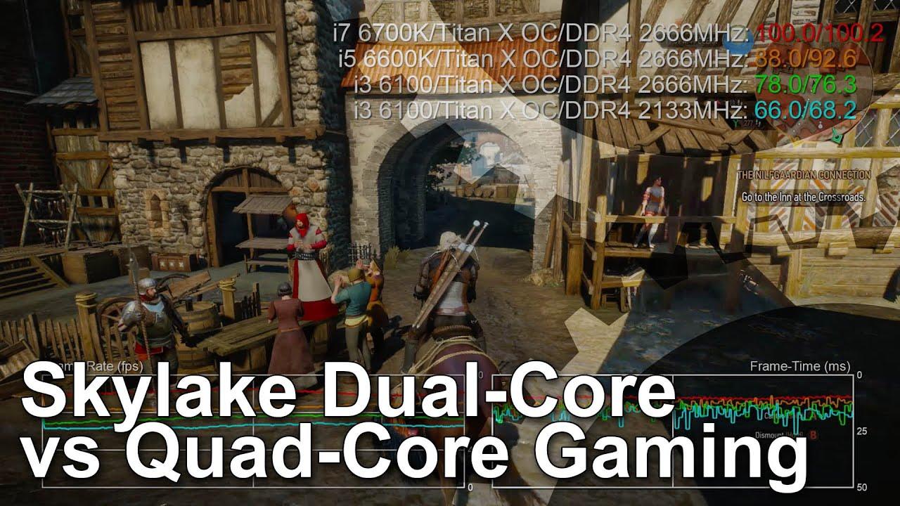 Intel Core i3 6100 vs Core i5 6600K vs Core i7 6700K CPU Gaming ...