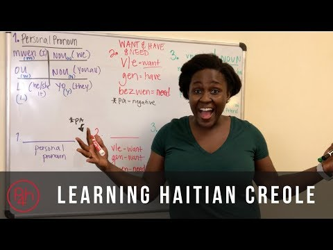 Learning Haitian Creole - Expressing Possession