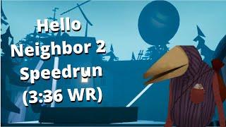 Hello Neighbor 2 Hello Guest Speedrun (3:36)