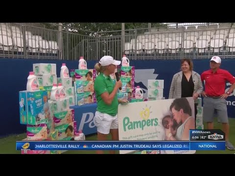 Surprise Baby Shower Thrown for Stacy Lewis (KNWA)