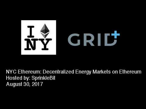 Decentralized Energy Markets on Ethereum