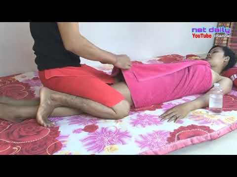 Japan Massage Sequence - Massage Therapy Skills Video ep 13/100