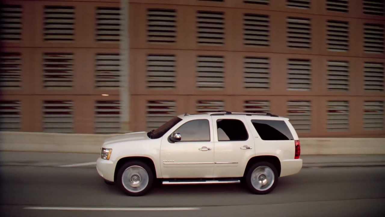 Tahoe LTZ White Diamond Chevrolet - YouTube