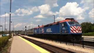 Metra | Trains Running the BNSF Line in Aurora, IL