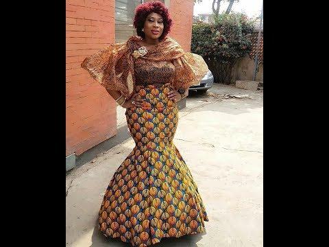 70+ Most Creative African Print Dresses 2018: Beautiful, Colorful And Stylish African Print Dresses