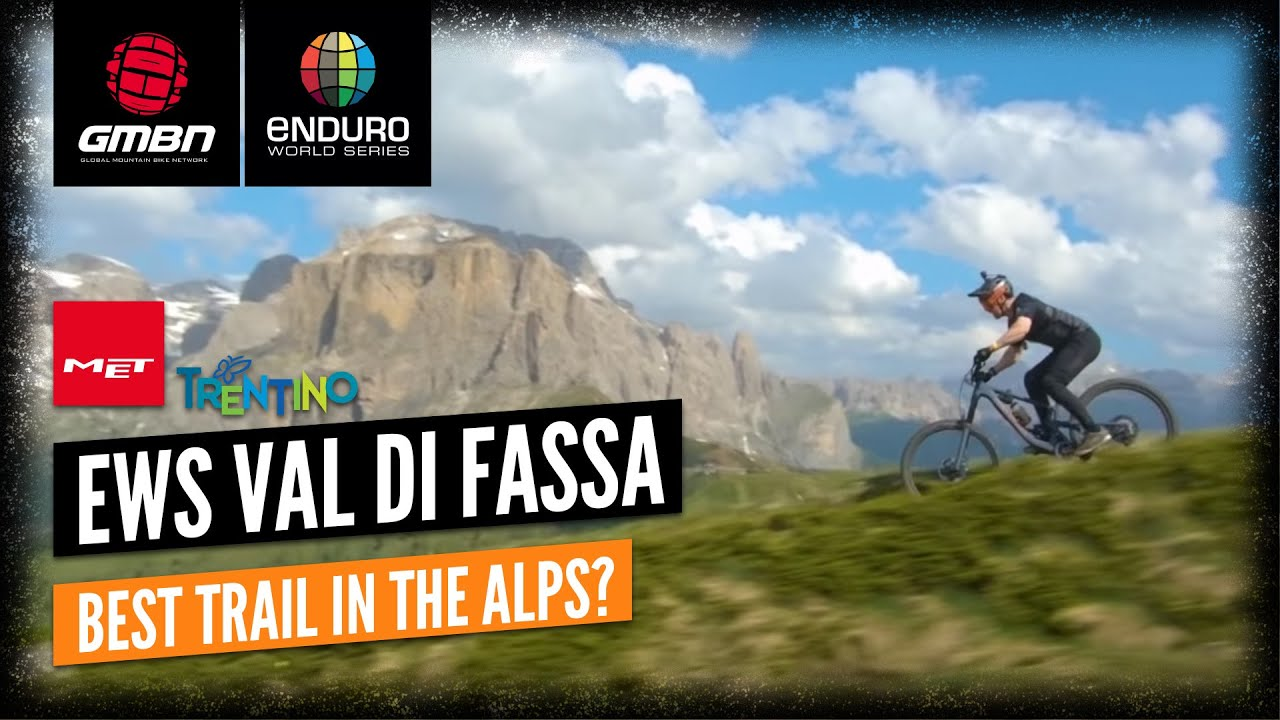 Download Is This The Best Trail In The Alps?   EWS Val Di Fassa Trentino Queen Stage Headcam