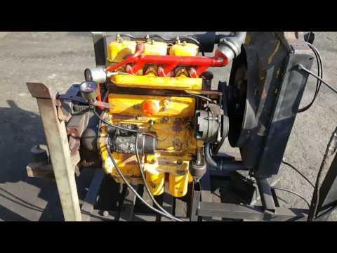 Zetor 5201 испытания дизельного мотора.