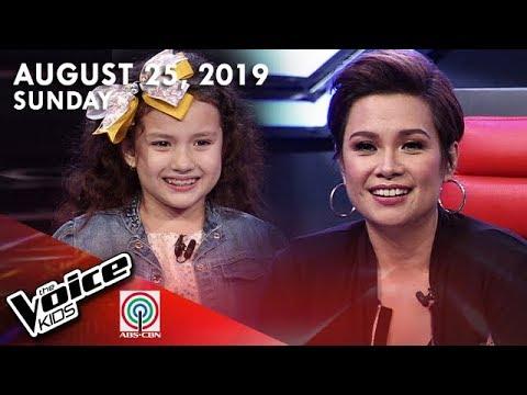 The Voice Kids DigiTV  August 25 2019