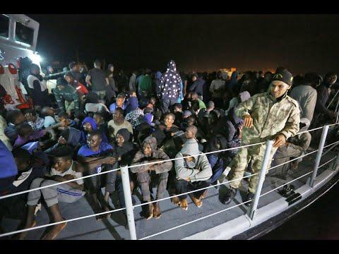 إنتشال مئات المهاجرين في يوم واحد بليبيا  - نشر قبل 1 ساعة