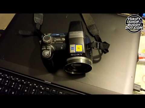 Sony DSC-H5 Power On & Functions Test | Thriftshopbuddy