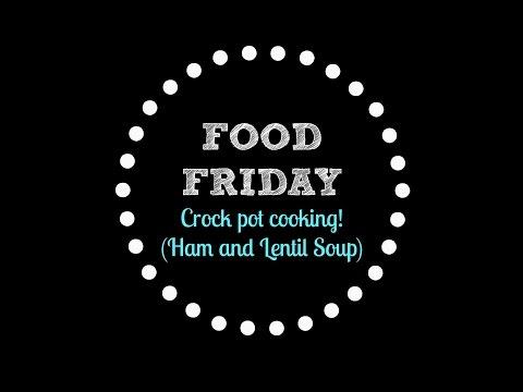 Easy Ham And Lentil Soup Recipe!