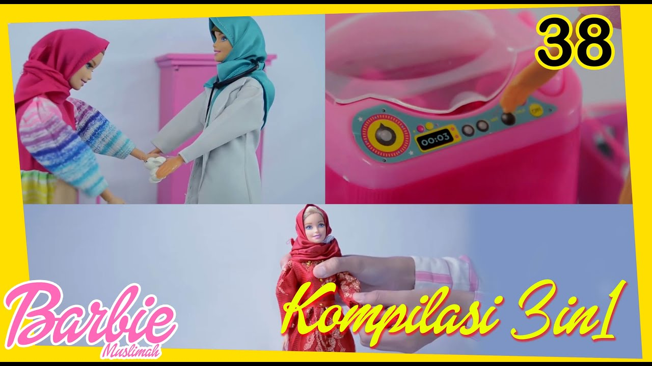 Barbie Muslimah Video Kompilasi 3in1 Season 1 Youtube