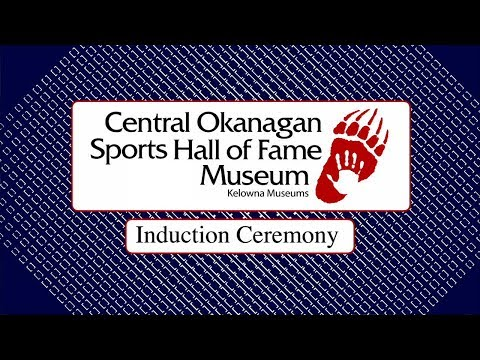 Central Okanagan Sports Hall of Fame 2017