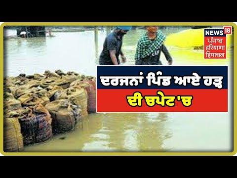 Sangrur LIVE: ਘੱਗਰ ਦਰਿਆ ਦਾ ਕਹਿਰ: ਦਰਜਨਾਂ ਪਿੰਡ ਆਏ ਹੜ੍ਹ ਦੀ ਚਪੇਟ `ਚ | Rain water News