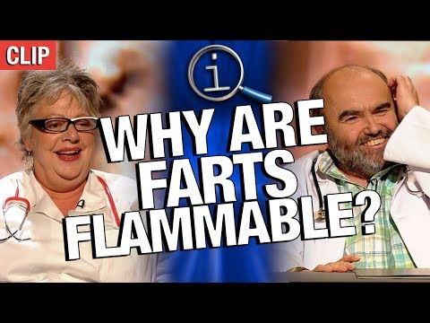 QI | Why Are Farts Flammable?