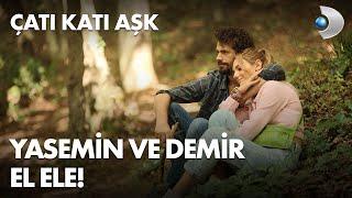 Yasemin ve Demir el ele, göz göze! - Çatı Katı Aşk 12. Bölüm