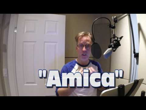 Day in the Life of a VoiceActor: Amica Session  Part 1