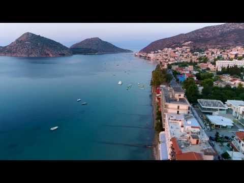 Tolo Greece, Summer 2017  Sunrise drone (4K)