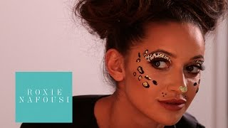 My Halloween Makeup   Get Ready With Roxie