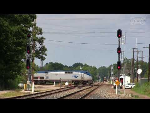 Repeat Amtrak & CSX Trains in Westfield, MA by TNT