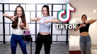 Learning Popular TikTok Dances - Merrell Twins