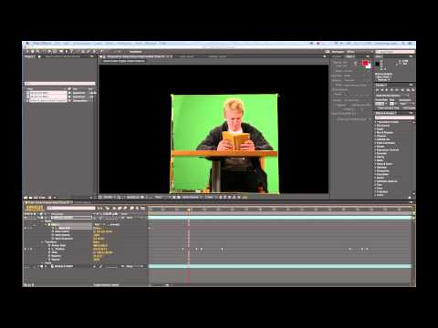 Green Screen Motion Control Demo