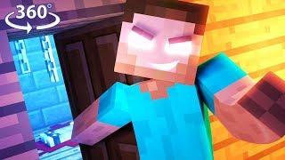 LOST! IN HEROBRINE'S HOTEL - 360° Minecraft Video