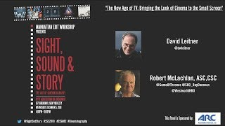 """The New Age of TV: Bringing the Look of Cinema to the Small Screen"" Rob McLachlan ASC - FULL PANEL"