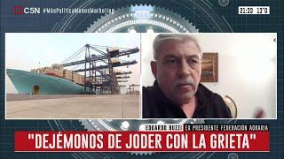 Entrevista a Eduardo Buzzi en Minuto Uno