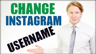 How to change Instagram username 2016 tutorial