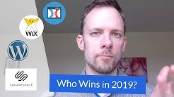 WIX, Squarespace, Clickfunnels or WordPress - Which Website Platform to Use in 2019?