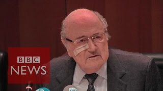Sepp Blatter: 'Sorry I am still somewhere a punching ball' BBC News