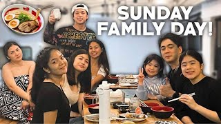 FAMILY DAY!!! ( our typical sunday hehe ) |Chelseah Hilary