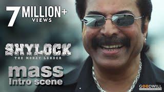 Shylock Movie Scene | Mammootty Mass Intro | Ajai Vasudev | Rajkiran | Kalabhavan Shajon