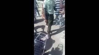 Enfrentamiento Entre Agentes de Amet y Motoristas en Boca Chica RD