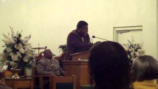 "Rev W B Sales-Singing ""Bread Of Heaven"" @ Live Oak M.B.Church 9-28-10"