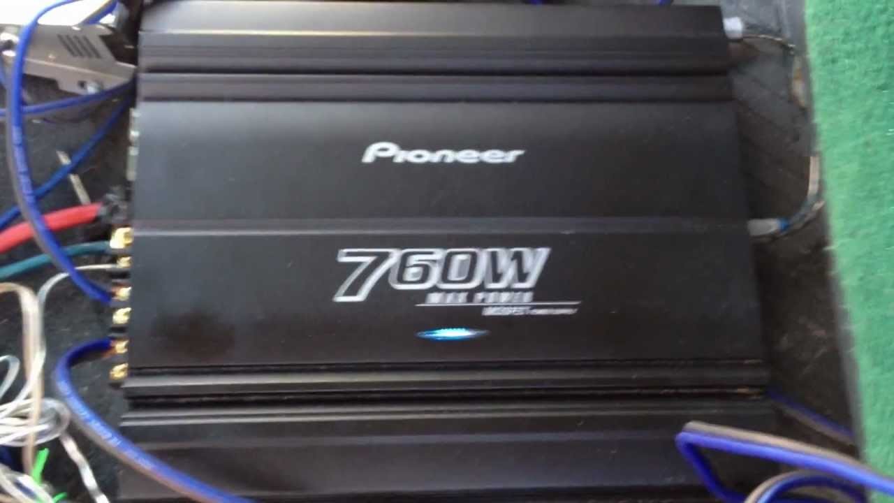 1993 F150 Sound System 3 Amps 2 Farad Capacitor 4 Subwoofers Mega Scosche Amp Wiring Kit With Probox Pyle Pld7mu
