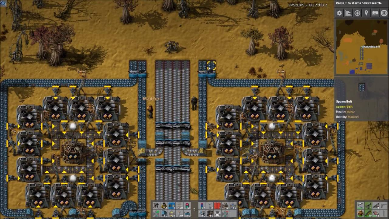 Factorio Workshop - Building A Better Factory :: The1Wolf34's Smelter ...